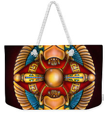 Scarab Beetle Design Weekender Tote Bag