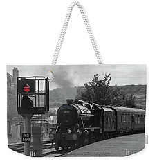 Scarborough Spa Express  Departs For The Sidings Weekender Tote Bag