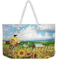 Scarecrow Farm Weekender Tote Bag