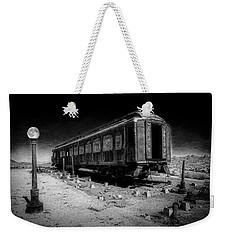 Scarlet Lady Moonlit Night Weekender Tote Bag