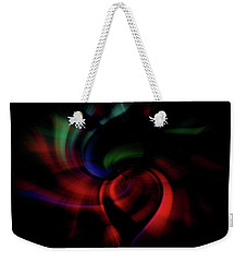 Weekender Tote Bag featuring the photograph Scarlet Pimpernel by Cathy Donohoue