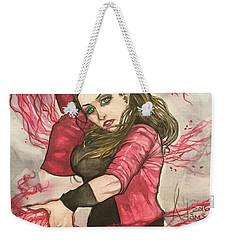 Scarlet Witch  Weekender Tote Bag by Jimmy Adams