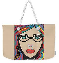 Scarlett - Contemporary Woman Art Weekender Tote Bag