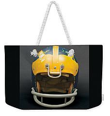 Scarred 1970s Wolverine Helmet Weekender Tote Bag
