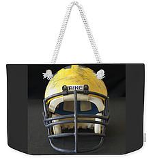 Scarred 1980s Wolverine Helmet Weekender Tote Bag