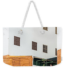Scarred Weekender Tote Bag