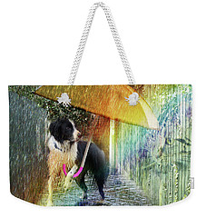 Scary Graffiti Weekender Tote Bag