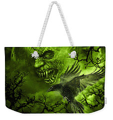 Scary Moon Weekender Tote Bag