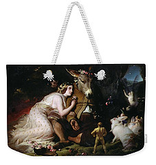 Scene From A Midsummer Night's Dream Weekender Tote Bag by Sir Edwin Landseer