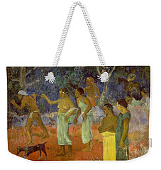 Scene From Tahitian Life Weekender Tote Bag by Paul Gauguin