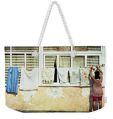 Scene Of Daily Life Weekender Tote Bag