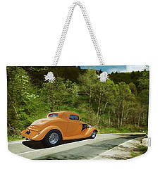Weekender Tote Bag featuring the photograph Scenic Drive by Steven Agius