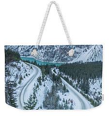 Scenic Drive Weekender Tote Bag
