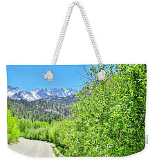 Scenic Driving Weekender Tote Bag by Marilyn Diaz