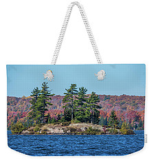 Weekender Tote Bag featuring the photograph Scenic Fall View by Paul Freidlund