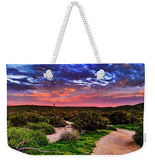 Scenic Trailhead Weekender Tote Bag by Anthony Citro