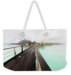 Scenic Walk To The Bungalow Weekender Tote Bag