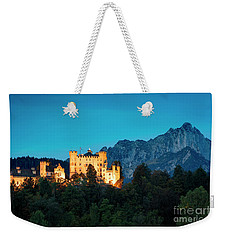 Weekender Tote Bag featuring the photograph Schloss Hohenschwangau by Brian Jannsen