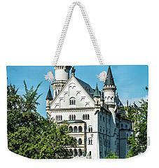 Weekender Tote Bag featuring the photograph Schloss Neuschwantstein by David Morefield