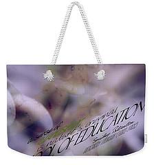 School Of Curiosity 06 Weekender Tote Bag