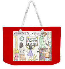 School Sweet School Weekender Tote Bag