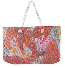 Weekender Tote Bag featuring the painting Schooled by Michele Myers