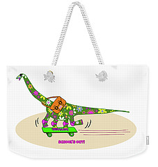 Schools Out For Dinosaurs Weekender Tote Bag