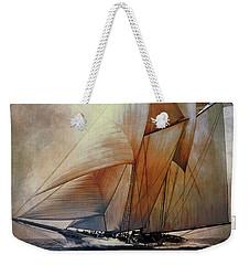 Schooner America In 1910.   Weekender Tote Bag