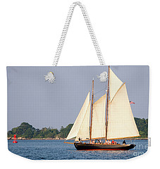 Schooner Cruise, Casco Bay, South Portland, Maine  -86696 Weekender Tote Bag