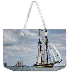Schooner Pride Of Baltimore Weekender Tote Bag