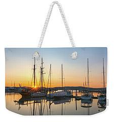 Schooners Sunburst Weekender Tote Bag by Angelo Marcialis