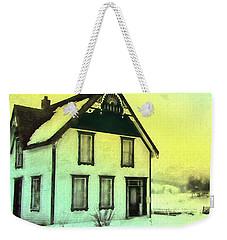 Schubert House Weekender Tote Bag by Kathy Bassett