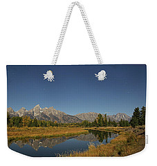 Schwabacher's Landing In Moonlight Weekender Tote Bag