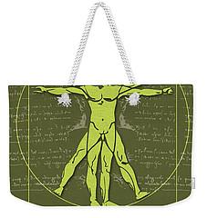 Science Posters - Leonardo Da Vinci - Artist, Inventor, Mathematician Weekender Tote Bag