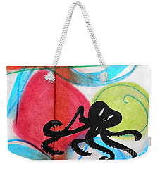 Scooting Along Weekender Tote Bag