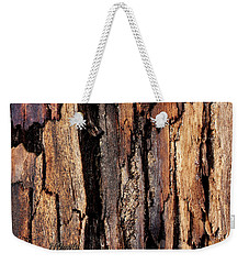 Scorched Timber Weekender Tote Bag
