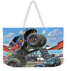 Scorpian Rides Again Weekender Tote Bag by Mike Martin