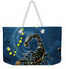 Scorpius And The Stars Weekender Tote Bag