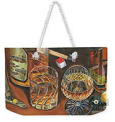 Scotch Cigars And Poll Weekender Tote Bag