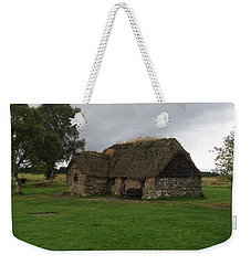 Weekender Tote Bag featuring the photograph Scotish Croft by Mary-Lee Sanders