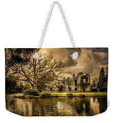 Weekender Tote Bag featuring the photograph Scotney Castle - Ruins by Ryan Photography