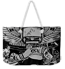 Scott Darling - First Nhl Shutout Weekender Tote Bag by Melissa Goodrich