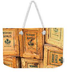 Scott Farm Apple Boxes Weekender Tote Bag