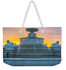 Scott Fountain Weekender Tote Bag