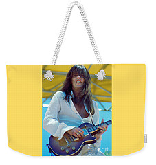 Scott Gorham Of Thin Lizzy Black Rose Tour At Day On The Green 4th Of July 1979 - 1st Color Release Weekender Tote Bag