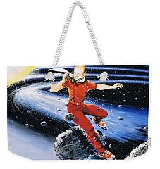 Scott Hamilton Skates The Stars Weekender Tote Bag