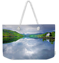 Scottish Reflection Weekender Tote Bag