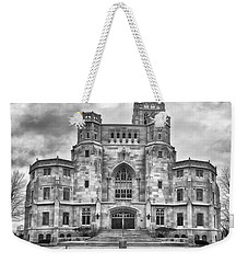 Weekender Tote Bag featuring the photograph Scottish Rite Cathedral by Howard Salmon