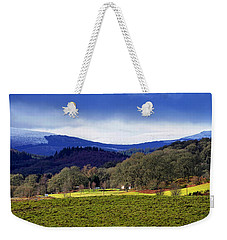 Weekender Tote Bag featuring the photograph Scottish Scenery by Jeremy Lavender Photography