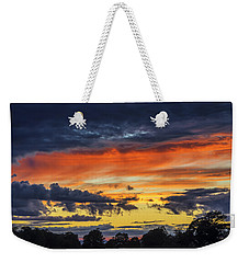 Weekender Tote Bag featuring the photograph Scottish Sunset by Jeremy Lavender Photography